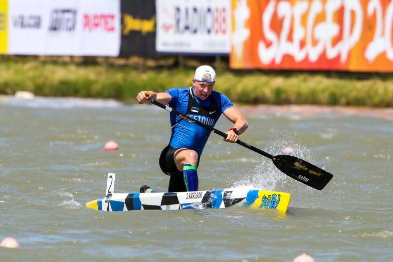 joosep karlson, canoeing paddler